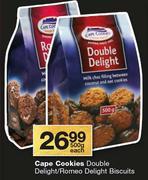 Romeo delight cookies