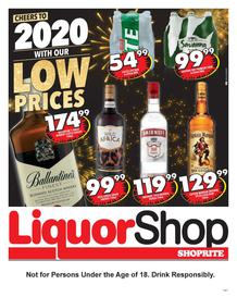 Shoprite Gauteng,Limpopo,Mpumalanga,Free State & North West :  Liquorshop Promotion (21 Jan - 09 Feb 2020)