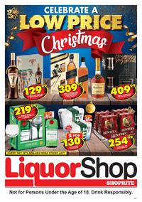Shoprite Gauteng,Limpopo,Mpumalanga,Free State & North West : Liquorshop Promotion (21 Nov - 08 Dec 2019)