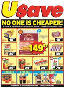 Usave Inland (26 April - 09 May 2021)