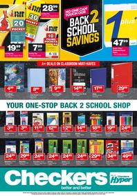 Checkers : Back To School (09 Jul - 05 Aug 2018)