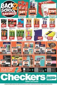Checkers : Back To School (29 June - 09 August 2020)
