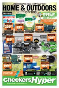 Checkers Hyper : Home & Outdoors This Spring (21 September - 04 October 2020)