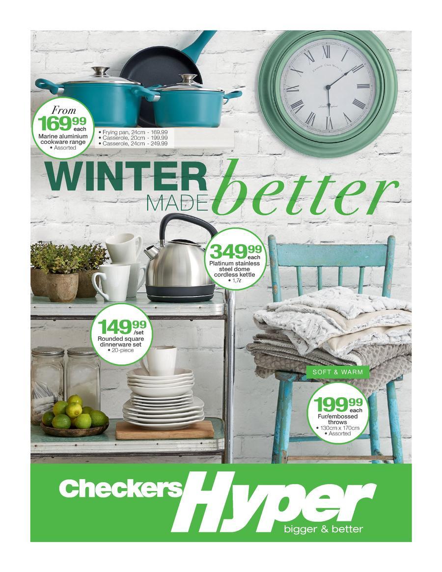 Checkers Hyper Winter Specials 25 May 07 Jun 2015