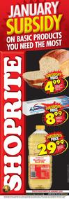 Shoprite : Subsidy Promotion (04 Jan - 20 Jan 2019)