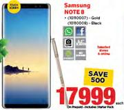 Samsung Note 8 In Gold/Black-Each