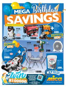 Mica : Mega Birthday Savings (20 October - 01 November 2020)