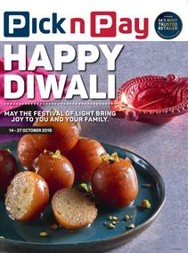 Pick n Pay Western Cape : Happy Diwali (14 Oct - 27 Oct 2019)
