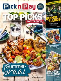 Pick n Pay : Top Picks (07 Oct - 20 Oct 2019)