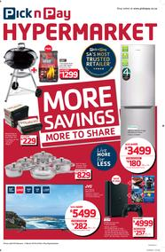 Pick n Pay Hyper : More Savings (20 Feb - 04 Mar 2018), page 1