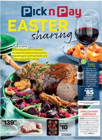 Pick n Pay : Easter Sharing (25 Mar - 21 Apr 2019)