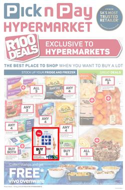 Pick n Pay Hyper : R100 Deals (06 May - 19 May 2019), page 1