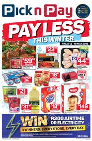 Pick n Pay Western Cape : Pay Less This Winter (13 May - 19 May 2019)