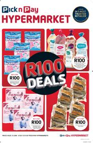 Pick n Pay Hyper : R100 Deals (25 Jun - 08 Jul 2018)