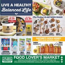 Food Lovers Market : Live A Healthy (27 May - 02 Jun 2019)