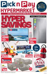 Pick n Pay Hyper : Savings (04 Feb - 17 Feb 2019)