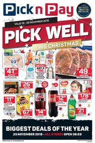 Pick n Pay Western Cape : Pick Well This Christmas (19 Nov - 25 Nov 2018)