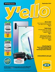 MTN : Business (01 Sep - 30 Sep 2019)