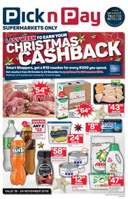 Pick n Pay Western Cape : Last Week To Earn Christmas Cashback (18 Nov - 24 Nov 2019)