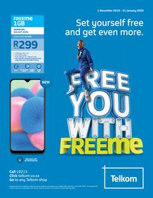 Telkom : Free You With Free Me (01 Dec - 31 Jan 2020)