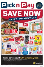 Pick n Pay Western Cape  : Save Now (11 Feb - 17 Feb 2019)