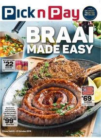 Pick n Pay : Braai Made Easy (08 Oct - 21 Oct 2018)