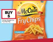 Special McCain Straight Cut Fry Chips-5X1Kg — www guzzle co za
