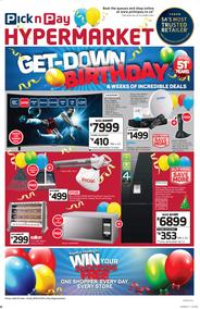 Pick n Pay Hyper : Birthday Deals (25 Jun - 08 Jul 2018)
