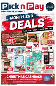 Pick n Pay Western Cape : Month-End Deals (21 Oct - 03 Nov 2019)