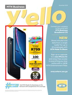 Special Apple Iphone Xr 64gb On Mtn Made For Business S Www Guzzle Co Za