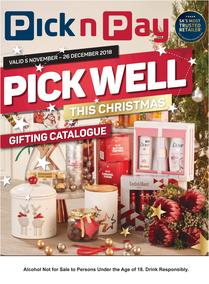 Pick n Pay : Pick Well This Christmas Gifting Catalogue (05 Nov - 26 Dec 2018)