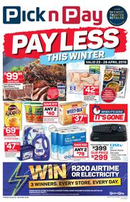 Pick n Pay Western Cape : Pay Less This Winter (23 Apr - 28 Apr 2019)