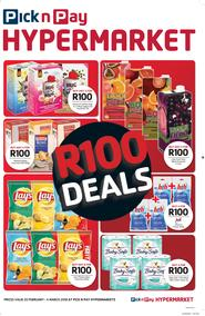 Pick n Pay Hyper Western Cape : R100 Deals (20 Feb - 04 Mar 2018), page 1