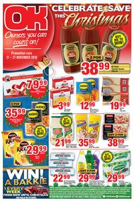 OK Foods Western Cape : Christmas (21 Nov - 27 Nov 2018)