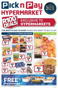 Pick n Pay Hyper : Exclusive R100 Deals (28 Apr - 05 May 2019)