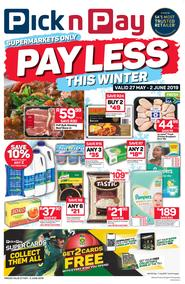 Pick n Pay Western Cape  : Pay Less This Winter (27 May - 02 Jun 2019)