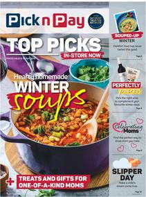 Pick n Pay Western Cape  : Top Picks This Winter (06 May - 19 May 2019)