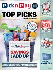 Pick n Pay : Top Picks (20 Jan - 02 Feb 2020)