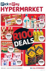 Pick n Pay Hyper Western Cape : R100 Deals (07 May - 20 May 2018)