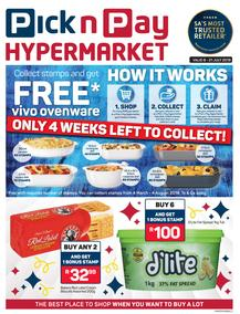 Pick n Pay Hyper : Vivo Ovenware Savings (08 Jul - 21 Jul 2019)