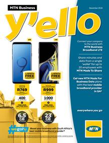 MTN Business : Y'ello (01 Dec - 31 Dec 2018)