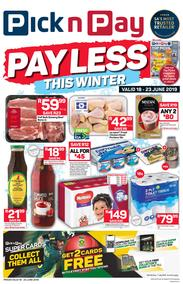 Pick n Pay Western Cape : Pay Less This Winter (18 Jun - 23 Jun 2019)