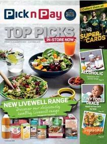 Pick n Pay : Top Picks (23 Sep - 06 Oct 2019)