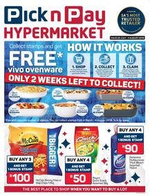 Pick n Pay Hyper : Vivo Ovenware (22 Jul - 04 Aug 2019)