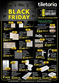Tiletoria : Black Friday (29 Nov - 30 Nov 2019)