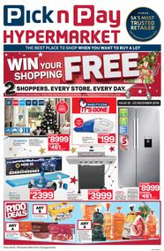Pick n Pay Hyper (10 Dec - 23 Dec 2018)
