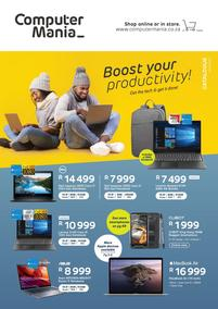 Computer Mania : Boost Your Productivity! (01 June - 30 June 2020)