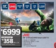 "JVC 58"" (147cm) UHD Smart LED TV LT-58N785"