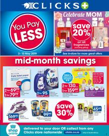 Clicks : You Pay Less (3 May - 13 May 2019)