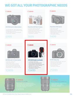 Special Canon EOS 800D Double Lens Bundle — www guzzle co za
